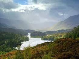 Glen Affric: A break in the storm brings magical light to the glen.