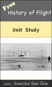 Free History of Flight Unit Study - Homeschool Helper Online