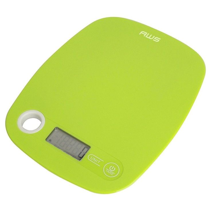American Weigh Scales Digital Kitchen Scale, Green