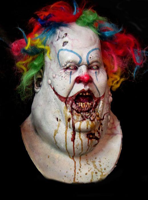 25 best ideas about ugly clowns on pinterest evil clown makeup clowns and evil clowns - Masque halloween horreur ...