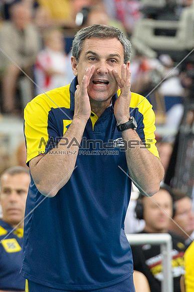 Coach Jose Roberto Guimaraes of Brazil Volleyball Team   © Mariusz Pałczyński / MPAimages.com