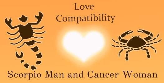 Your Match: Scorpio Man and Cancer Woman Love Compatibility