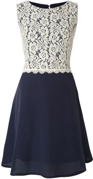 Crochet Lace Aline Dress