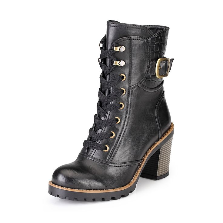 GENKEK / Zhen сетка толщиной 2014 новые зимней моды ботинки на шнурках с туфли на высоком каблуке в Европе и Америке Мартин сапоги -tmall.com Lynx