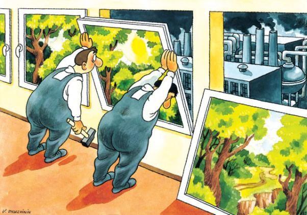Resultado de imagen para imagenes de problemas ambientales dibujos