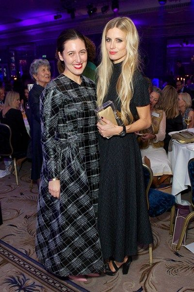 Emilia Wickstead and Laura Bailey at the The Walpole British Luxury awards