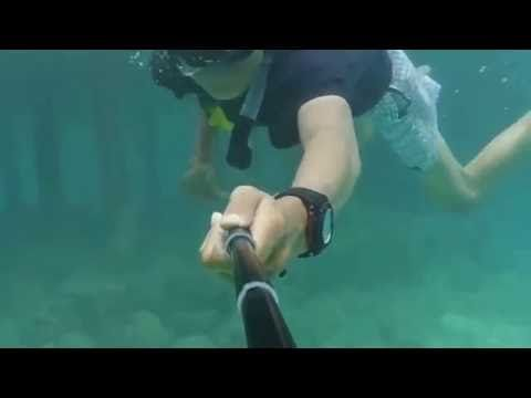 Snorkeling and diving on the island of a Pulau Seribu
