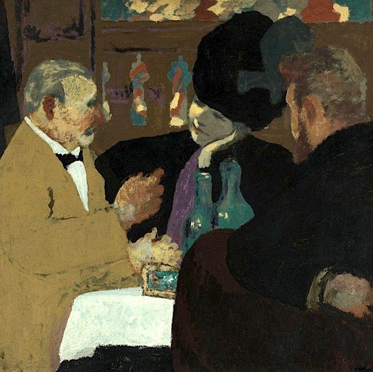 Edouard Vuillard, At the Cafe, c. 1898–99
