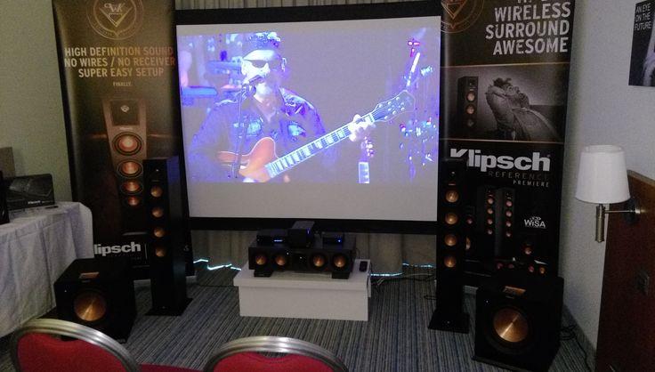 Klipsch WISA draadloze luidsprekers op de New Music hifi beurs te Brussel (15/16 oktober 2016)