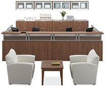 OfficeSource reception area furnishings