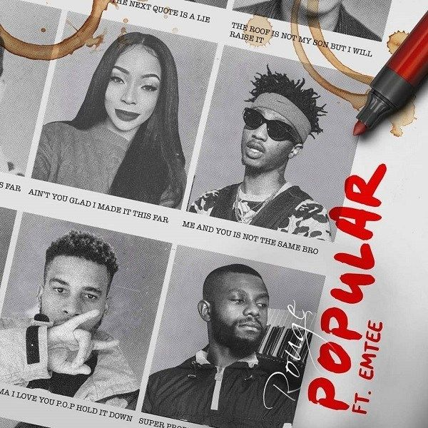 Music Audio Rouge Ft Emtee Popular Download Mp3 Rapper