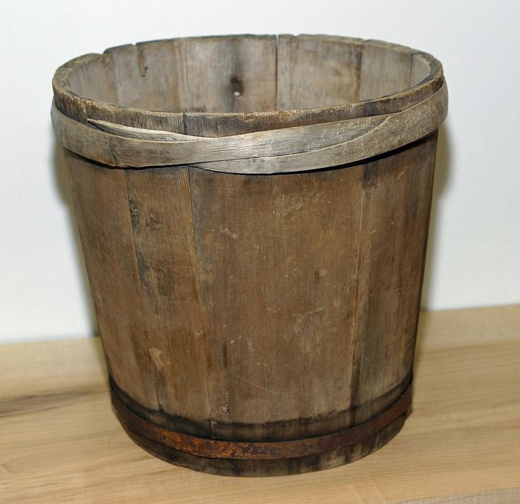 Vermont antique maple syrup sap bucket primitive $95.00