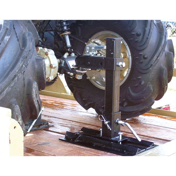 Discounted sale prices on the Lock-it Rite Trailer System. This Lock-it Rite Trailer System keeps your ATV secure during transport!