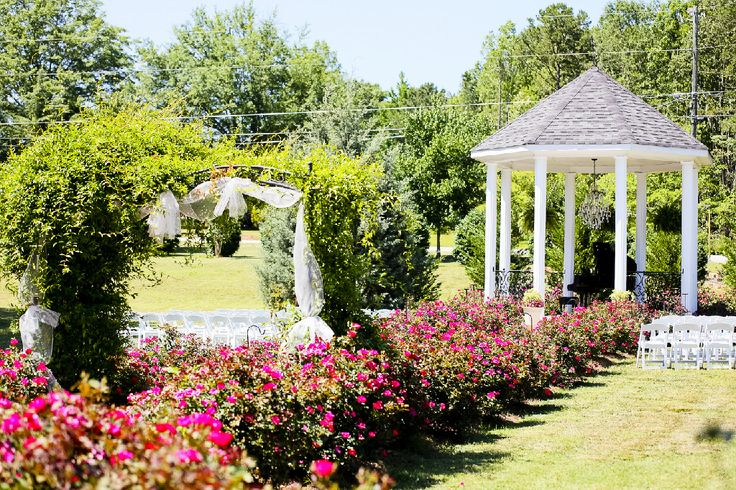 outdoor vintage wedding venue North West Georgia  Rosehall - off 61 in Dallas - very reasonable packages including full catered dinner