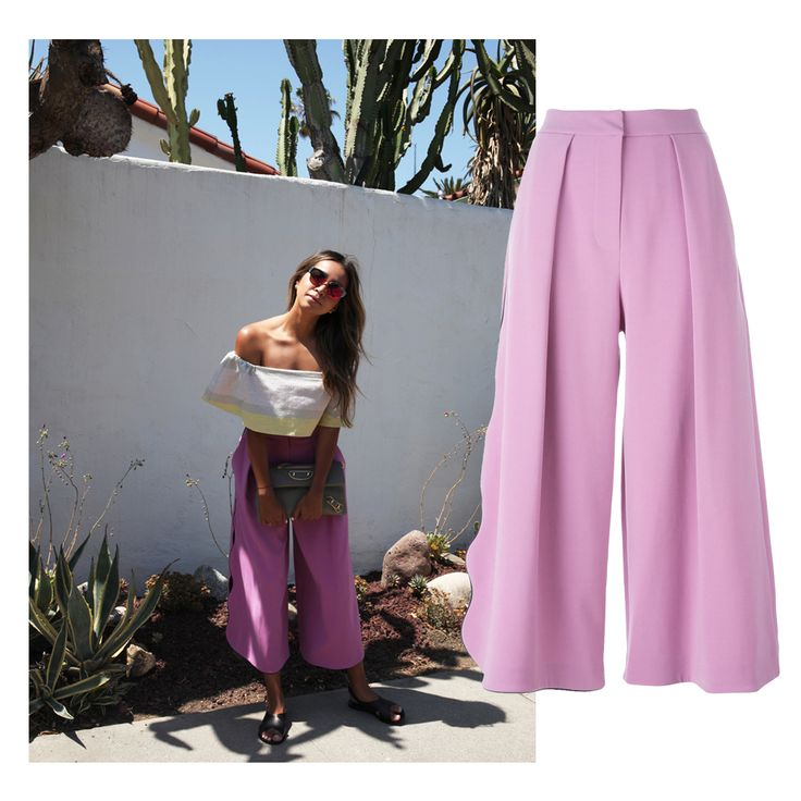 Sincerely Jules in Roksanda Culottes | Available at Julianne