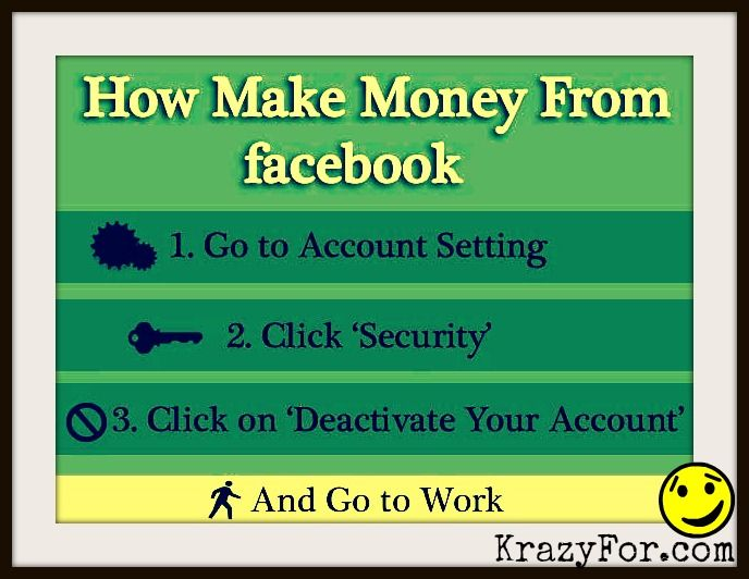How To Make Money From FaceBOok…….. #facebook
