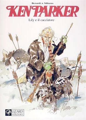 Lily e il cacciatore, Giancarlo Berardi & Ivo Milazzo: Scampato da un attacco indiano ad un avamposto militare, Ken Parker, ferito ad un braccio e ad una gamba e impossibilitato a muoversi, trova riparo dal freddo e dalla neve in una grotta. Agonizzante, viene accudito da una cagnetta di nome Lily. Nei deliri provocati dalla febbre, Ken rivede se stesso bambino in compagnia della madre.