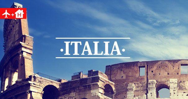 Ofertas Vuelo + Hotel Italia