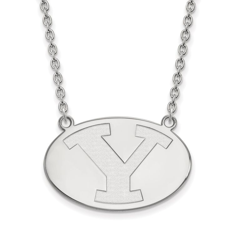 10 Karat Gold LogoArt Brigham Young University Pendant with Necklace