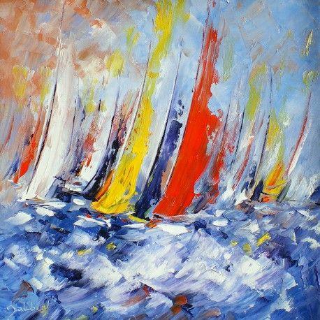 Oeuvre marine marvoil 617 francis jalibert huile for Peinture interieur bateau