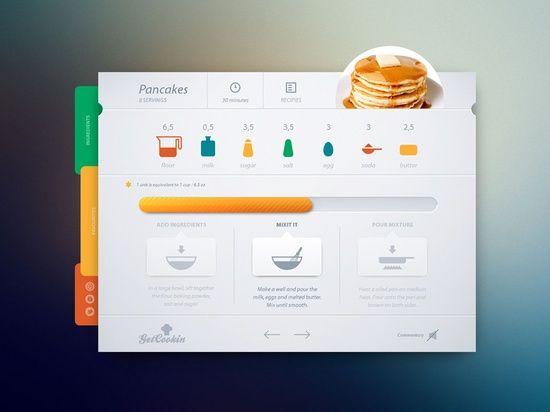 Nice And Creative #UI #Design