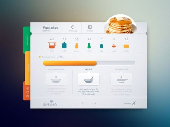 Nice And Creative #UI #Design