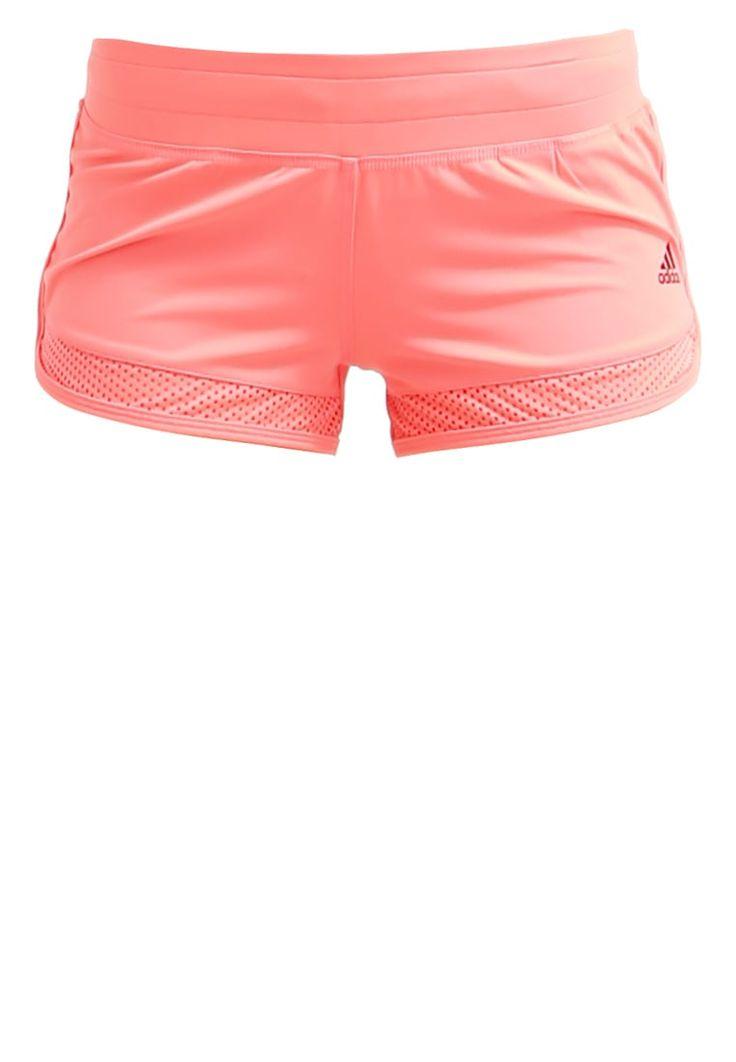 adidas Performance kurze Sporthose - flash red - Zalando.de