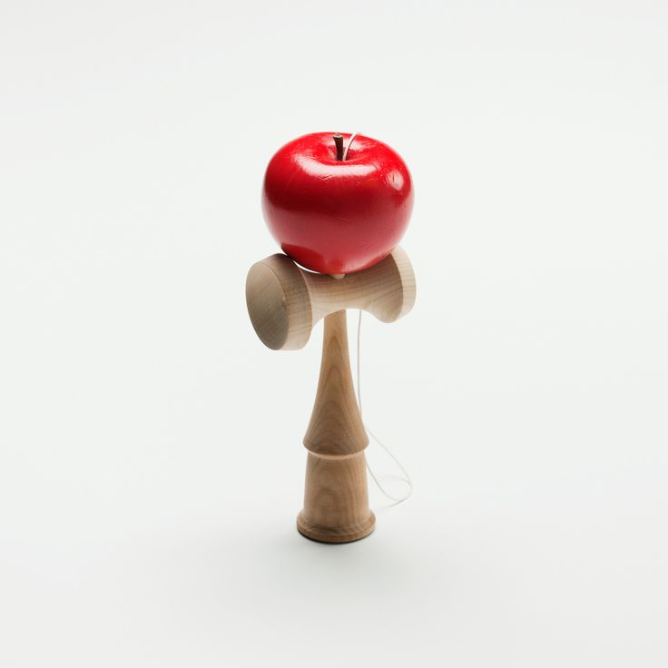 A beautiful variation on the cup and ball game, kendama.