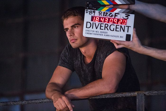 These Exclusive Behind-the-Scenes Pics from the 'Divergent' Set Will Have You Dying to See the Movie Again