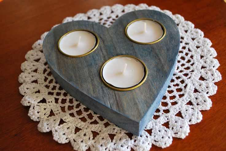 #heart #candle #painted