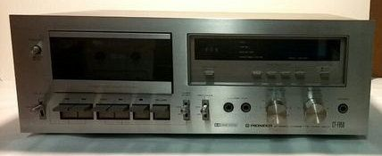 Pioneer Stereo Cassettte Deck CT-F650 by AwesomeCEF on Etsy