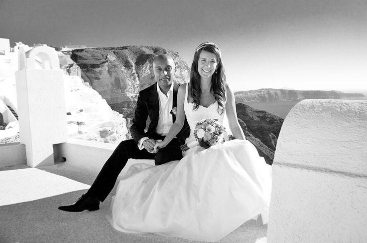 Santorini Wedding Pictures   Agia Irini wedding location