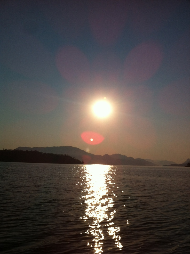 Crocs, hippos, tiger fish and beautiful sunsets. All part of the Cahora Bassa Dam in Mozambique