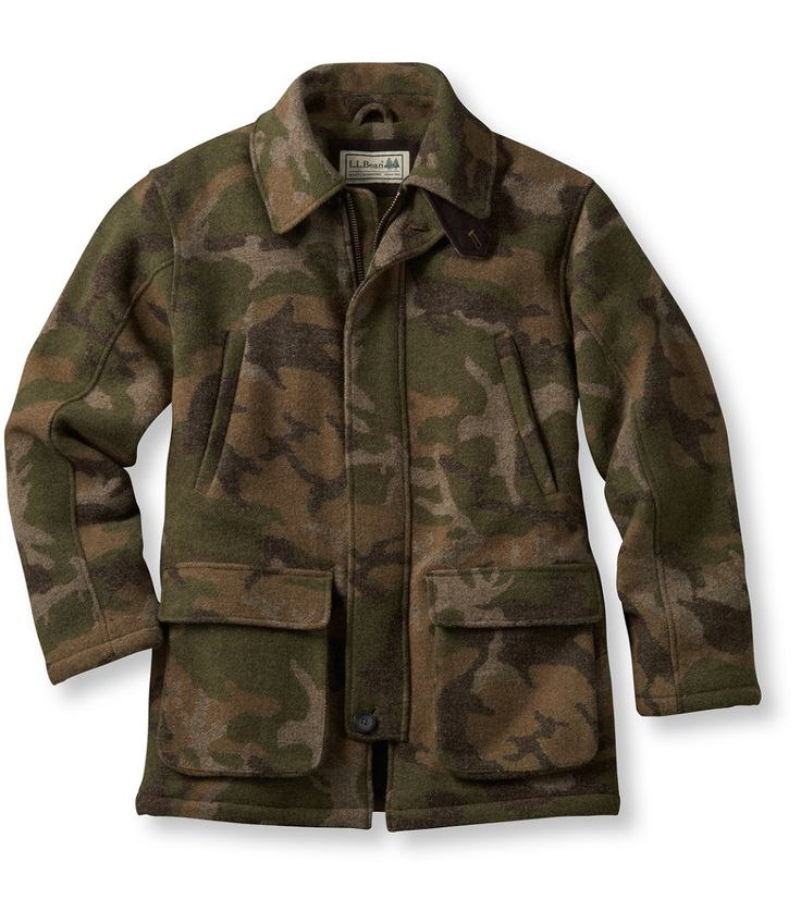 Maine guide wool parka primaloft hunting clothes wool