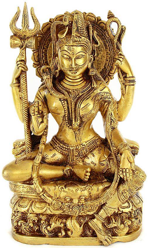 All is Nothing But Shiva and Parvati (Ardhanarishvara)