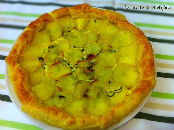 #Tortasalata con #patate e #zucchine
