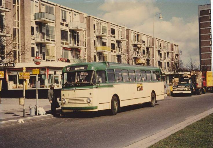 Bus 15 in DenHaag 60er jaren