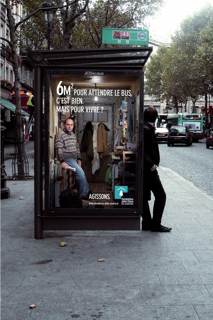 Campagne publicitaire choc, sensibilisation publique