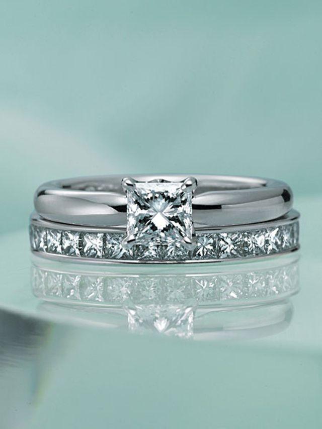 ダイヤの透明感が際立つ辛口スクエアのクールな輝き|デビアス(De ... デビアス(De Beers) ダイヤの透明感が際立つ辛口スクエアのクールな