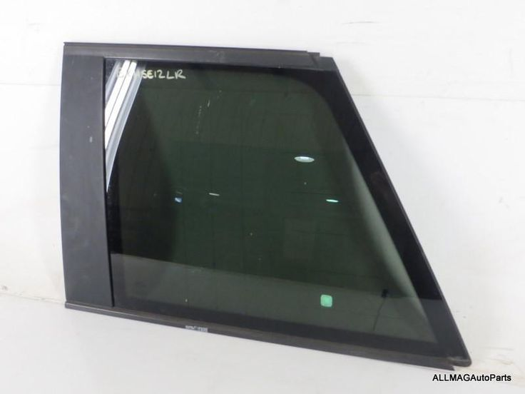 2003-2005 Range Rover Left Rear Quarter Glass, Privacy (HSE, L322)