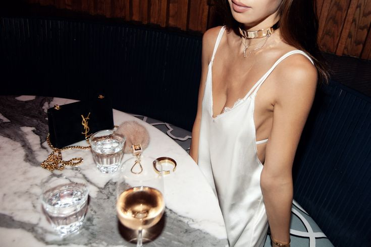 LA nights out in the Zillah slipdress and Sylph string bra ✨ #ayai