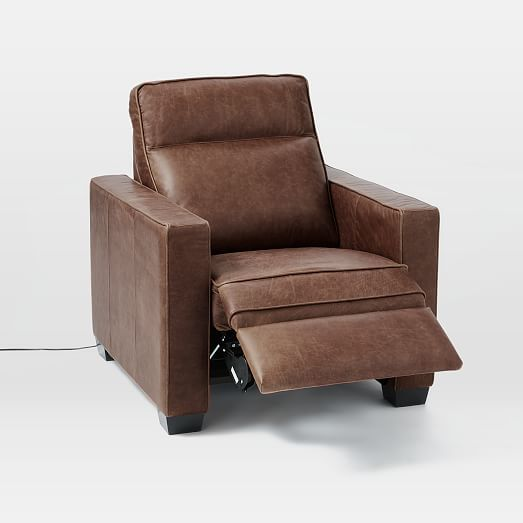 Henry® Leather Power Recliner Chair #westelm