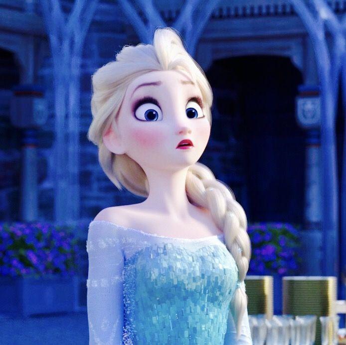 Best facial expression Elsa's ever made.