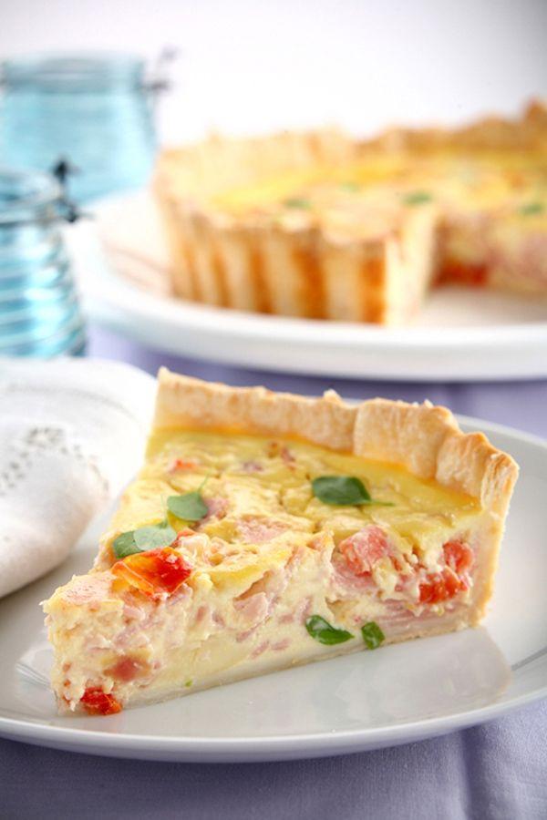 Receta Tarta de jamón y queso de Casancrem