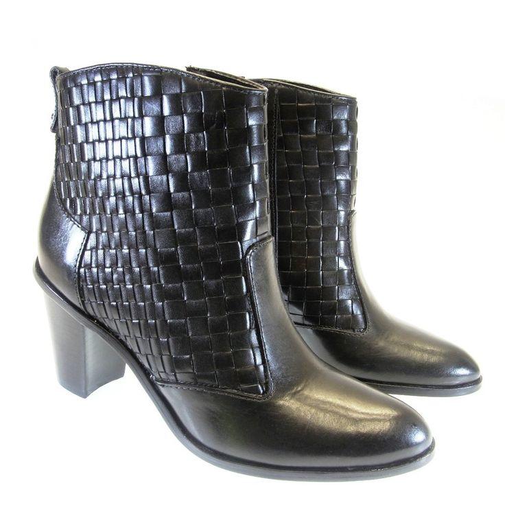 Bota Cano Curto Preta 4010543 Capodarte | Moselle calçados finos femininos! Moselle sua boutique online.