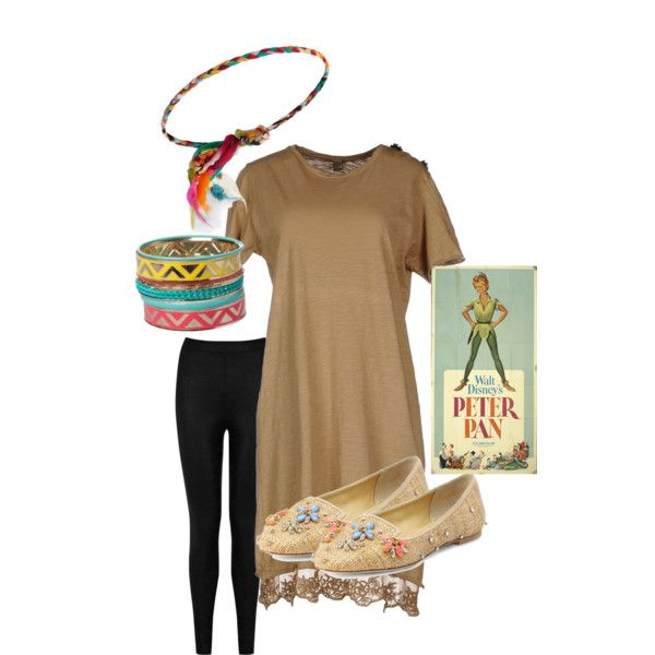 """""""Tiger Lily - Peter Pan"""" costume theme by thiszthegirlz on Polyvore"""