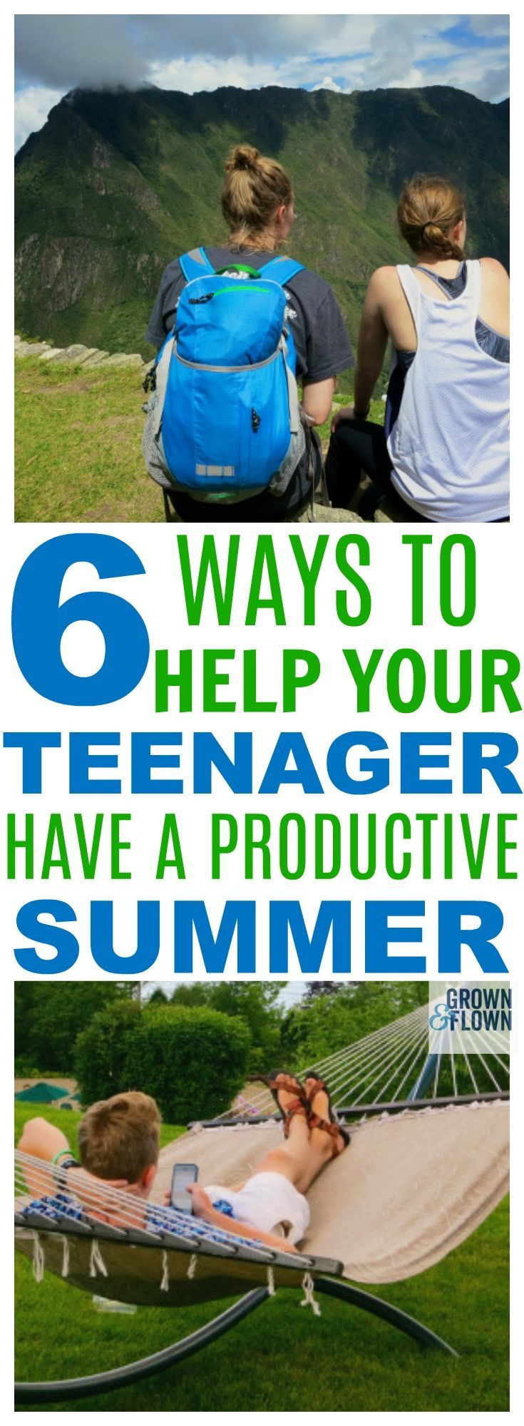Summer for teens doesn't have to be all about finding summer jobs. The summer time can actually be a really great time for your teen to accomplish a lot of really great things that will prepare them for life. Here are 6 ideas of things your teenagers can do this summer aside from getting a summer job. #summer #teens #teenagers #parentingteens #teen #highschool #summerjob #summerideasforteens #summerkidideas