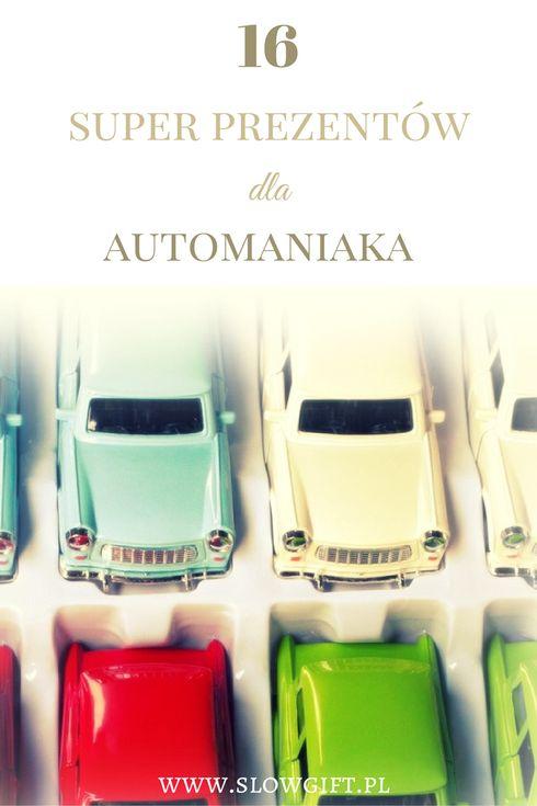 Gifts for car lovers / Prezent dla mężczyzny, który kocha samochody - Slow gift