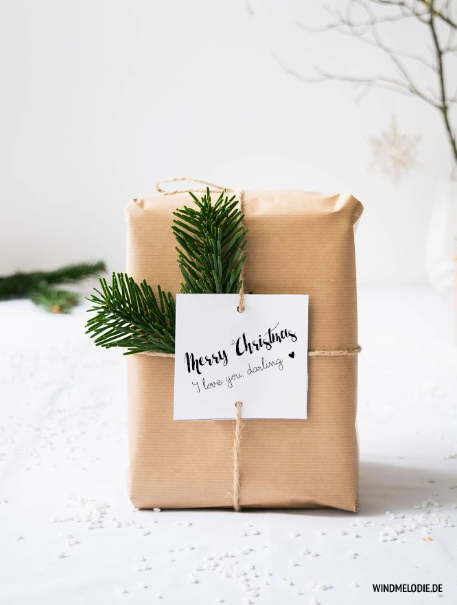 Gift wrapping idea! Love love love this!