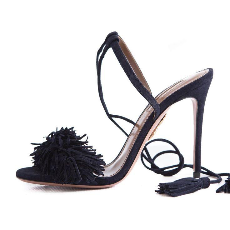 Sandales en cuir Optic 105Aquazzura Uwu0t8dDOJ